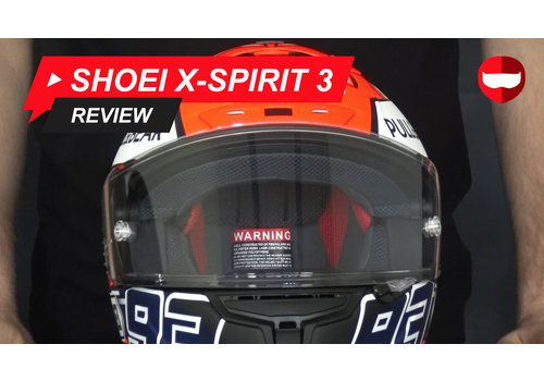 Shoei Shoei X-Spirit 3 video Review