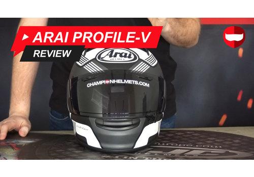 Arai Arai Profile V Video Review
