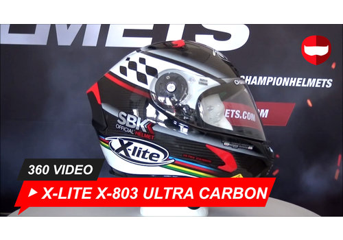 X-LITE X-LITE X-803 ULTRA CARBON PURO GLOSS 360 Video
