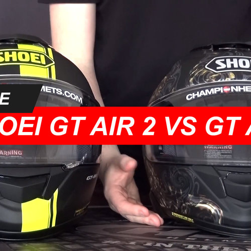Comparing the Shoei GT Air and the Shoei GT-Air 2