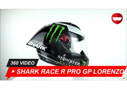 Shark Shark Race-R Pro GP Lorenzo Winter Test 2019 360 Video