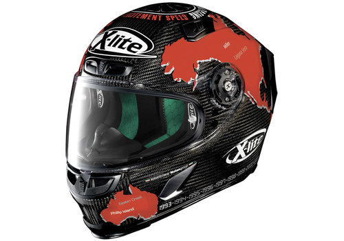 X-LITE X-803 Ultra Carbon Checa 019 Helm
