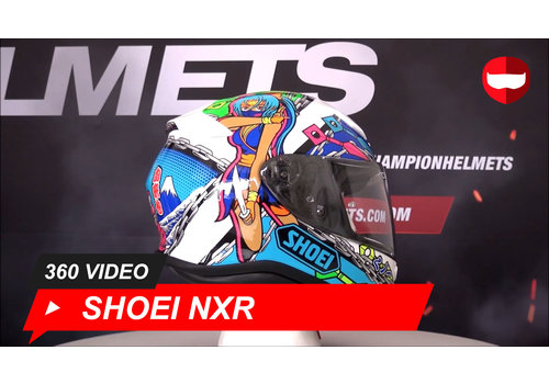Shoei Shoei NXR Stimuli TC-10 360 Video