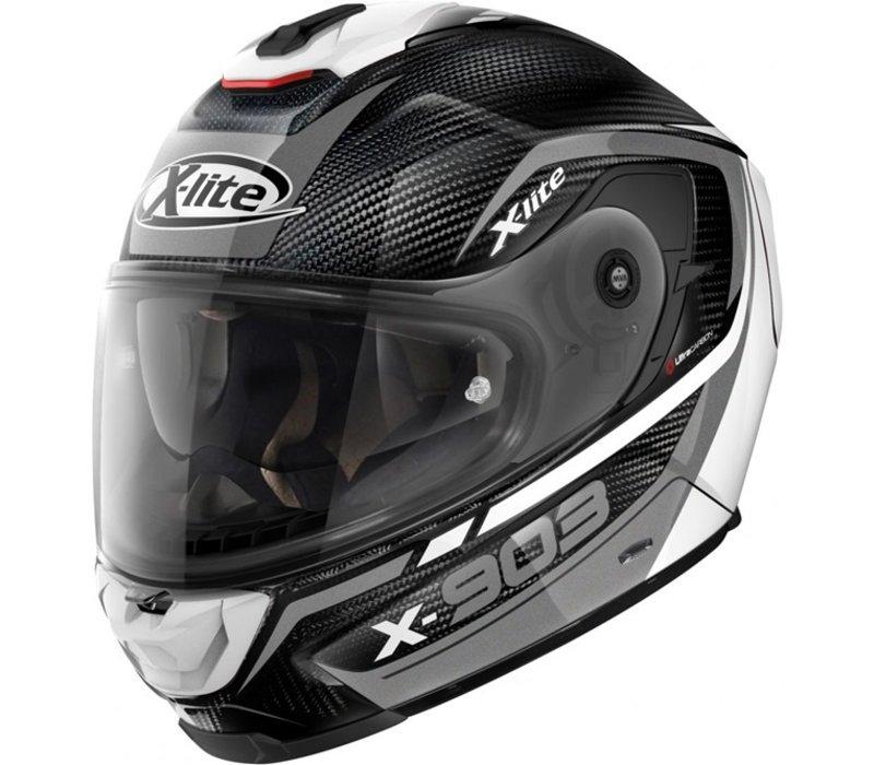 Buy X-Lite X-903 Ultra Carbon Cavalcade 011 Helmet? Free Additional Visor!