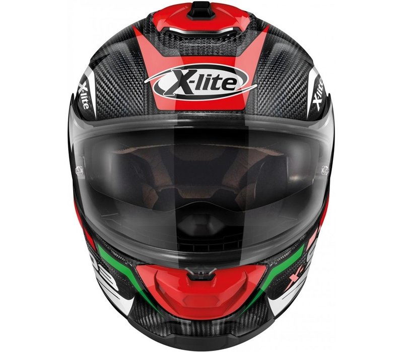 Casco X-Lite X-903 Ultra Carbon Cavalcade 010 + Visiera Extra Gratuita!