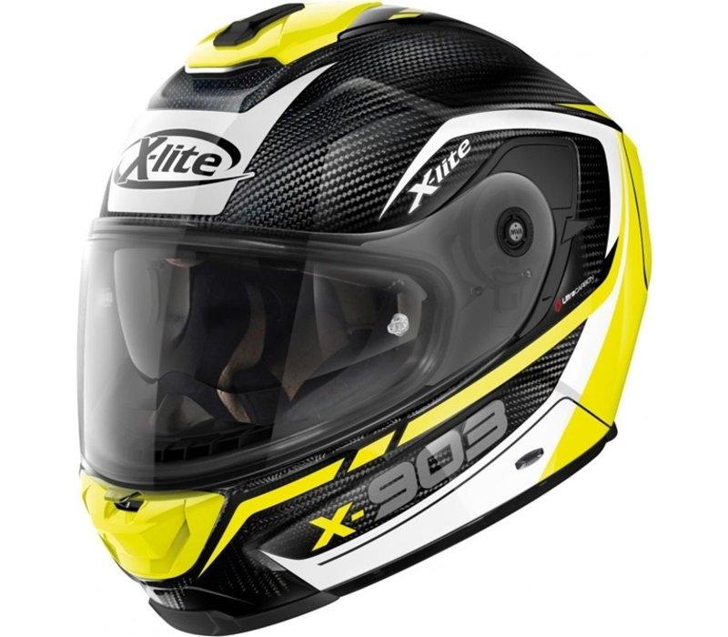 Buy X-Lite X-903 Ultra Carbon Cavalcade 012 Helmet? Free Additional Visor!