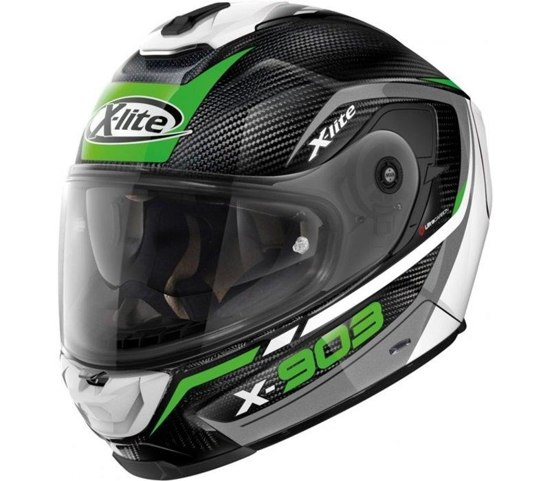 Buy X-Lite X-903 Ultra Carbon Cavalcade 014 Helmet? Free Additional Visor!