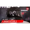 Shoei Casco Shoei GT-AIR 2 nero 360 Video