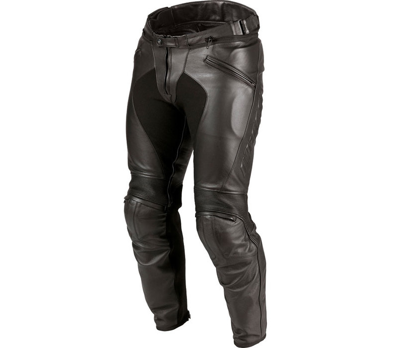 Pantaloni Di Pelle Dainese Pony C2 Nero + Spedizione e Ritorno Gratuiti!