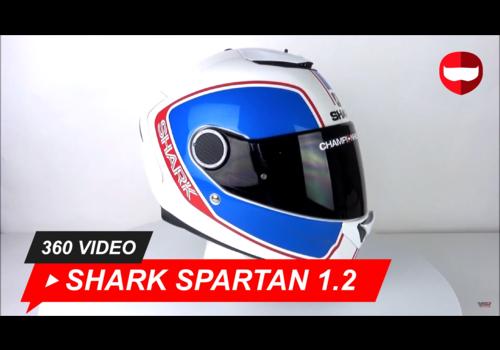 Shark Shark Spartan 1.2 Glanzend Wit 360 Video