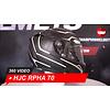 HJC Casco HJC RPHA 70 Black Panther 360 Video