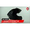 Shoei Casque Shoei X-Spirit III Noir Mat 360 Vidéo