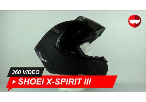 Shoei Shoei X-Spirit III Matt Black 360 Video