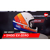 Shoei Casco Shoei Ex-Zero Equation TC-2 360 Video