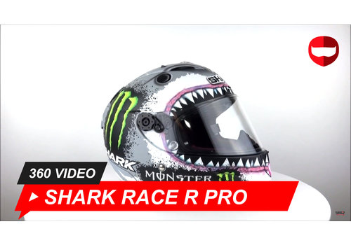 Shark Shark Race-R Pro Lorenzo Monster 2018 360 Video
