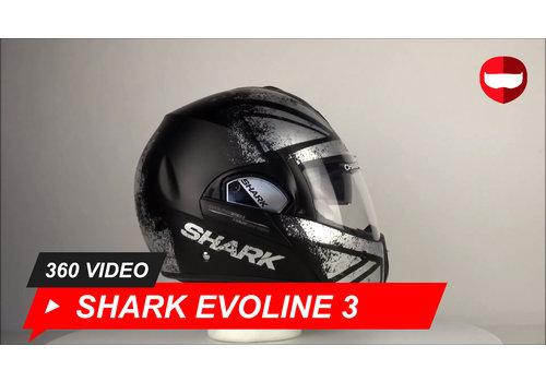 Shark Shark Evoline 3 Mescal Chrome 360 Video