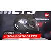 Schuberth Casco Schuberth C4 Pro Swipe grigio 360 Video