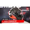 AGV AGV Corsa-R Casanova Schwarz rot grün Helm 360 Video