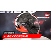 AGV AGV Corsa-R Casanova Zwart  Rood Groen Helm 360 Video
