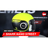 Shark Shark Street-Drak Neon YKK Helm 360 Video