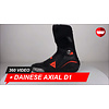 Dainese Dainese Axial D1 Black Fluo Red Motorcycle boots 360 Video