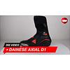 Dainese Dainese Axial D1 Schwarz Fluo Rot Motorradstiefel 360 Video