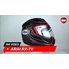 Arai Arai RX-7V Maze Frost Black Helmet 360 Video
