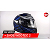Shoei Shoei Neotec 2 Splicer TC-2 Helm 360 Video