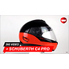 Schuberth Casco Schuberth C4 Pro Swipe arancione 360 Video