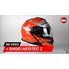 Shoei Shoei Neotec 2 TC-8 Helm 360 Video