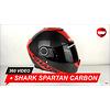 Shark Shark Spartan Carbon DRR Helmet 360 Video