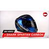 Shark Shark Spartan Carbon Guintoli DBY Helm 360 Video