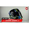 Shark Shark Skwal 2 Replica Sykes Helm 360 Video
