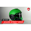 Shark Shark Street Drak Neon GKK Helm 360 Video