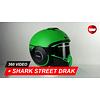 Shark Shark Street Drak Neon GKK Helmet 360 Video