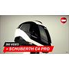 Schuberth Casco Schuberth C4 Pro Fragment bianco 360 Video