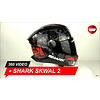 Shark Shark Skwal 2 Nuk'Hem Helmet 360 Video