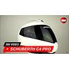 Schuberth Casco Schuberth C4 Pro Bianco lucido 360 Video