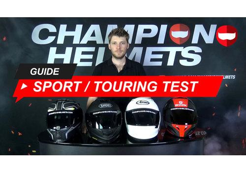3 melhores Capacetes Sport-Touring