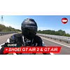 Shoei Shoei GT Air 2 vs GT Air -Rij-Test