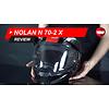 Casco Nolan N70-2 X Video Review