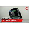 Shark Shark Skwal 2 Switch Rider 2 Helmet 360 Video