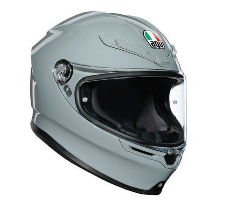 Buy AGV K6 Nardo Grey Helmet? Free Additional Visor!