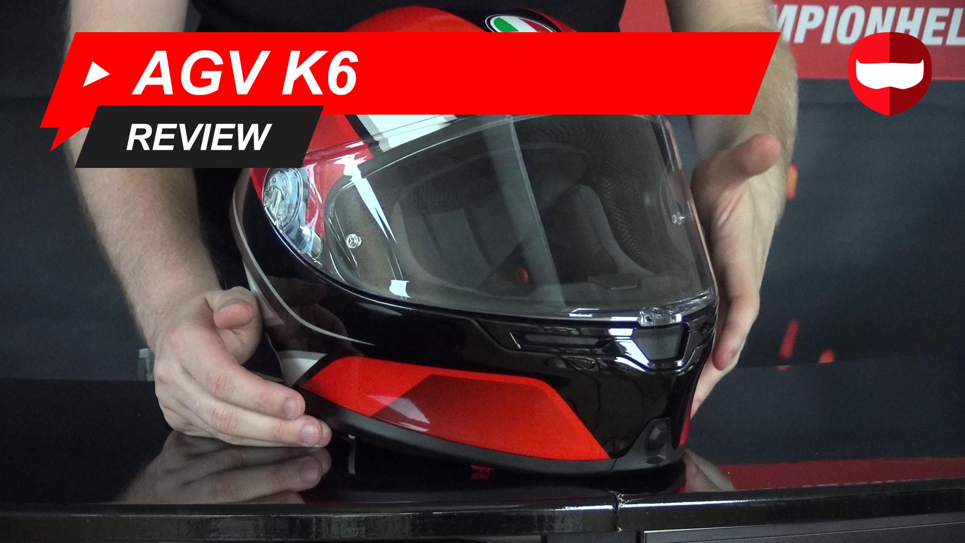 AGV K6 Integraalhelm Review