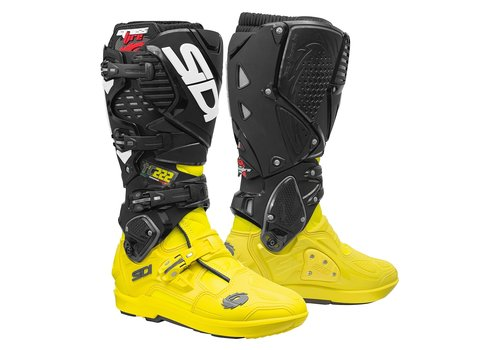 Sidi Crossfire 3 SRS Boots TC222 Cairoli Black Yellow