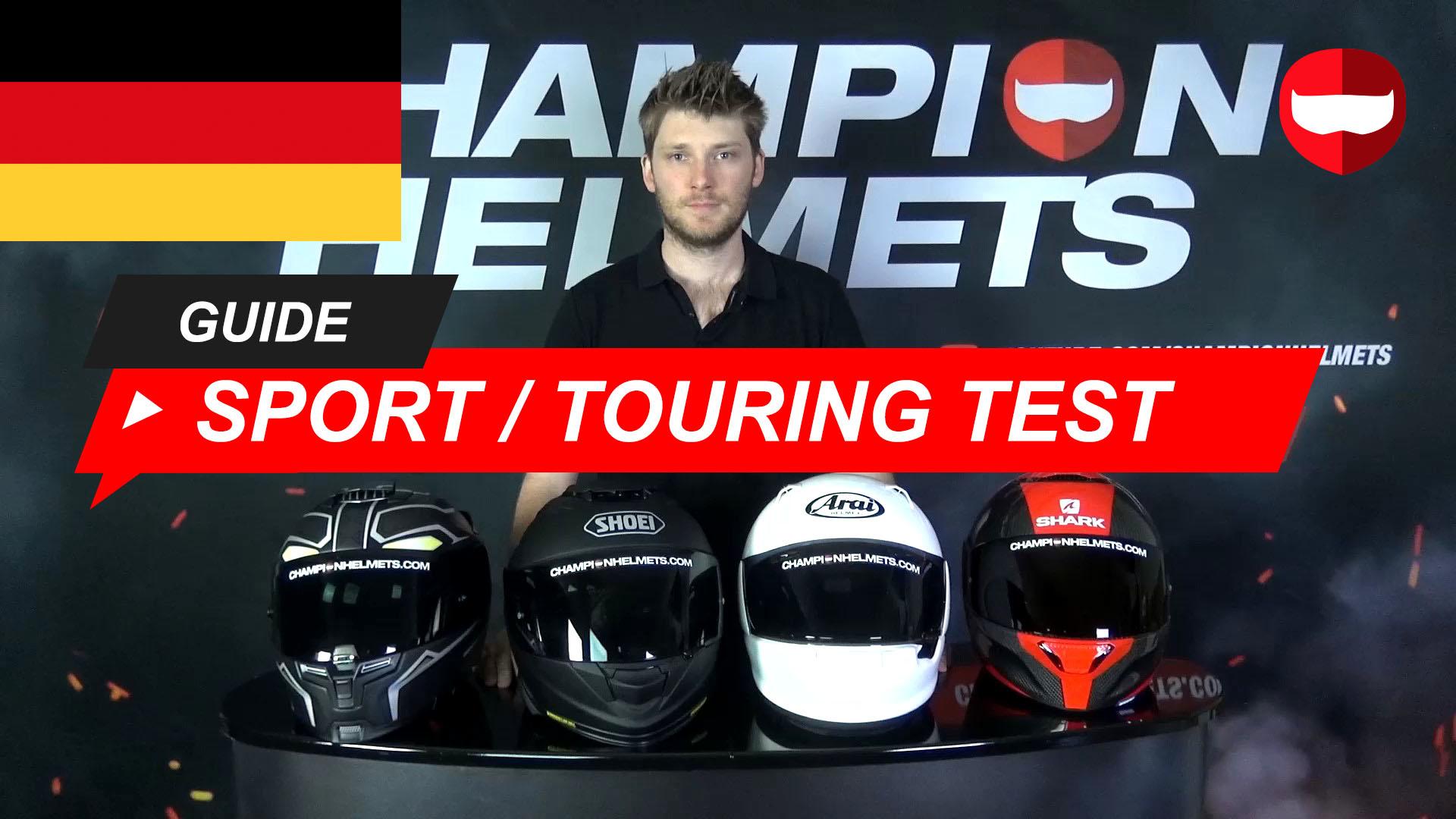 Beste Sport Touring Helme 2019 im Straßentest
