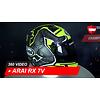 Arai Arai RX 7V Isle of Man 2019 TT Full-face Helmet 360 Video
