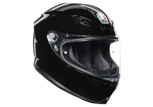 AGV K6 Schwarz Helm