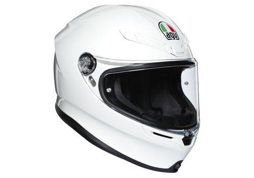 AGV K6 White Helmet