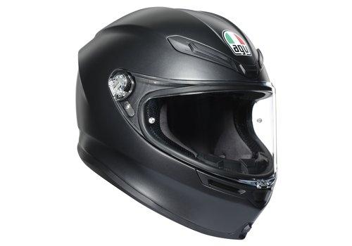 AGV K6 Matt Black Helmet